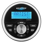 Aquatic AV Wired, Flush Mount Remote Control AQ-WR-5F