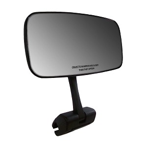 CIPA Comp Universal Mirror with Deluxe Windshield Mount Bracket