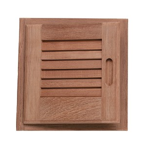 SeaTeak Teak Louvered Doors & Frames