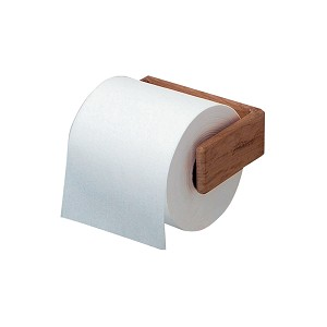 SeaTeak Teak Toilet Tissue Rack