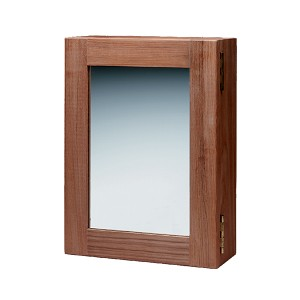 SeaTeak Teak Medicine Chest w/Mirror