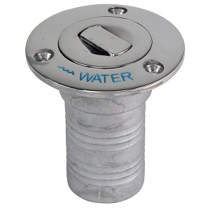 "Whitecap Bluewater Push Up Deck Fill - 1-1/2"" Hose - Water"