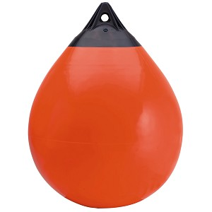 "Polyform A Series Buoy A-5 - 27"" Diameter - Red"