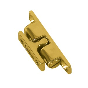 "Whitecap Stud Catch - Brass - 1-15/16"" x 3/8"""