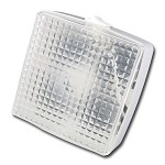 Frilight Square 8611 | 12 volt Utility Light | Halogen or LED Bulb