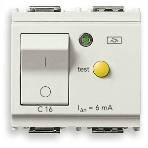 Vimar Idea 1P+N RCBO | 6mA Residual Current Breaker