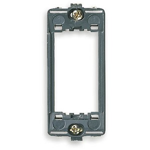 Vimar Idea Mounting Frame with Screws, 1 Module, for Panel Mounting, Grey, Vimar