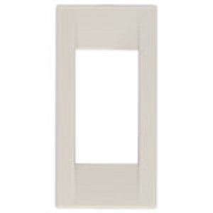 Vimar Idea Square Cover Plate, Technopolymer, Idea White 04, 1 Module, Vimar