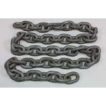 Imtra 1/4 inch G43 Hot-Galvanized, High-Tensile Chain by the Foot or Drum