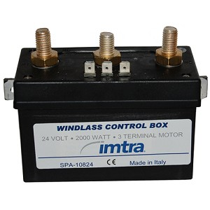 Watertight 24 Volt Control Box for 3 Wire Motors up to 2300W
