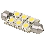 Imtra SV8.5 Festoon Socket 42mm | 12 Volt LED Replacement Bulbs