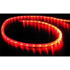 120 volt led rope lights in red blue cool white or warm white imtra 120 vac led ip65 rope lights blue red ww or wh leds aloadofball Images