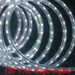 Imtra 120 VAC LED IP65 Rope Lights | Blue, Red, WW or WH LEDs