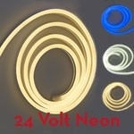 24VDC Neon LED IP66 Rope Light