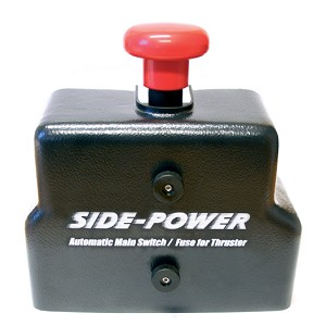 Side-Power Automatic Main Switch/Fuseholder (without Fuse), Ignition Protected