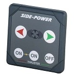 Side-Power Touchpanel 12/24V, 5-wire Thruster Control