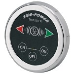 Side-Power Round, 12/24V, 5-wire Touchpanel Thruster Control