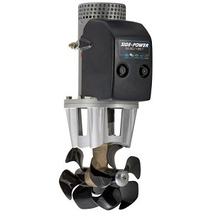 Side-Power SE80/185T 12V or 24V, Twin Prop Thruster - 80Kg/176Lb (6HP)