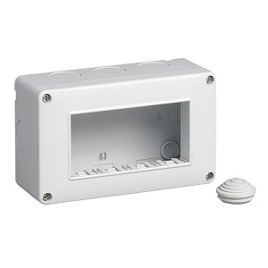 Vimar Plana 14804 - IP40 enclosure 4M
