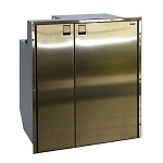 Isotherm Cruise 200 All Stainless Steel, Side by Side Fridge and Freezer