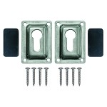 JIF Marine EHD Flush Mount Kit | Pontoon Ladder Mounting Hardware