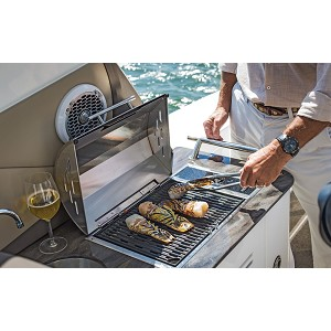 Kenyon Floridian Grill | Built-In, Single Burner Electric Grill