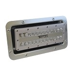Lumitec Triton LED Semi-Recessed, IP67 Flood Light | 12, 24, 120, or 240 Volt LED Light