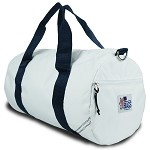 Newport Medium Round Duffel in Blue or Red