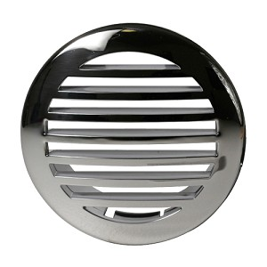 "ITC 3.5"" or 4.5"" Stainless Steel Clad Airflow Vent"