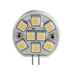 ITC 2 Watt, 12 & 24 volt  LED Replacement Bulb | 12 SMD | G4 side Pins