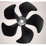 Side-Power Propeller, 5-Blade, Composite, Righthand, Pin Drive For SE170, SE210, and SH240