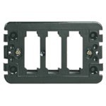Vimar 08531 Eikon 3 Module Mounting Frame with Screws
