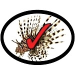 Lionfish Kill Stickers (100 ct.) | Full color, Waterproof & UV Stable