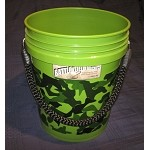 Battle Field Buckets | Camouflaged Heavy Duty Rope Handled 5 gallon Buckets